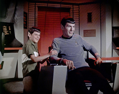 SPOCK AND YOUNG SON